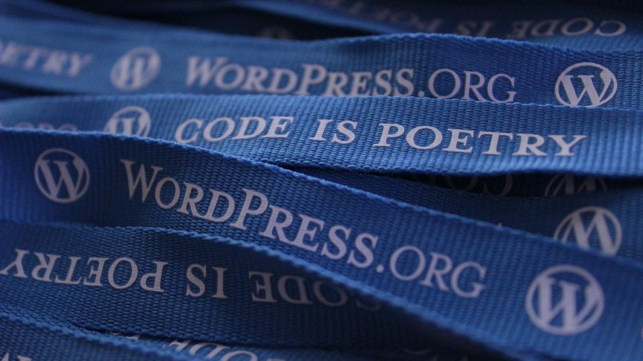 WordPress, Code is Poetry - image credit Gounder